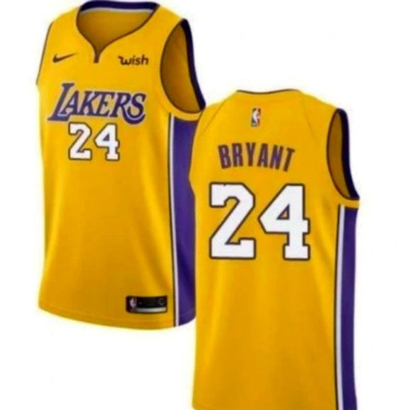 Shirts & Tops | Youth Los Angeles Lakers 24 Kobe Bryant Jersey ...
